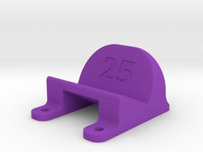 ImpulseRC Alien 5 - 25° Action Cam Mount in Purple Processed Versatile Plastic