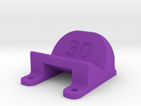 ImpulseRC Alien 5 - 30° Action Cam Mount in Purple Processed Versatile Plastic