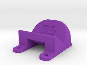 ImpulseRC Alien 5 - 35° Action Cam Mount in Purple Processed Versatile Plastic