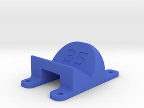 LT210 - 35° Action Cam Mount in Blue Processed Versatile Plastic