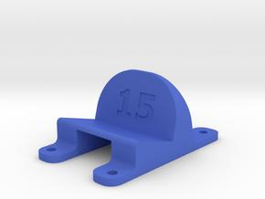 LT210 - 15° Action Cam Mount in Blue Processed Versatile Plastic