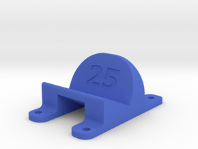 LT210 - 25° Action Cam Mount in Blue Processed Versatile Plastic
