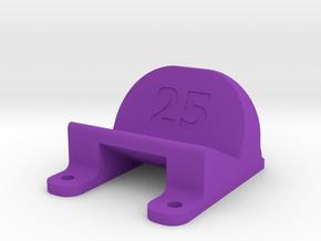 ImpulseRC Alien 6 - 25° Action Cam Mount in Purple Processed Versatile Plastic