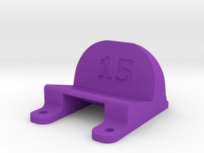 ImpulseRC Alien 6 - 15° Action Cam Mount in Purple Processed Versatile Plastic