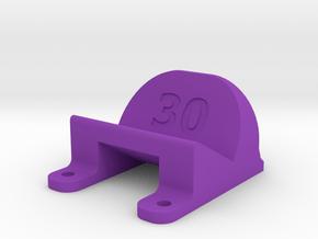 ImpulseRC Alien 6 - 30° Action Cam Mount in Purple Processed Versatile Plastic