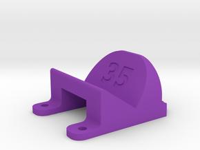 ImpulseRC Alien 6 - 35° Action Cam Mount in Purple Processed Versatile Plastic