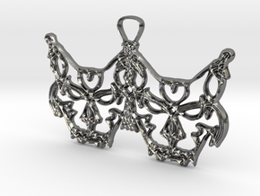 Freyjukettir - Freyja's cats in Fine Detail Polished Silver