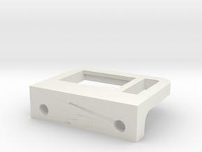 Rmp Part Bearingholder Base V2 in White Natural Versatile Plastic