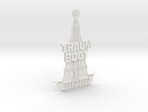 Magnetaufsatz Traumboot in White Natural Versatile Plastic