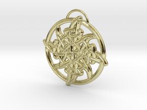Sól  in 18k Gold Plated Brass