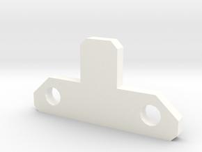 CW: Menasor Chestplate 2 in White Processed Versatile Plastic