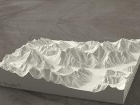 6''/15cm Baltoro Glacier and K2, Sandstone in Natural Sandstone