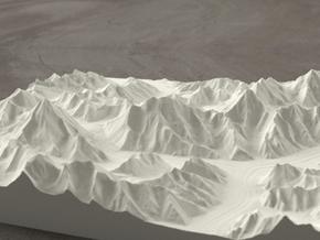 8''/20cm Baltoro Glacier and K2, Sandstone in Natural Sandstone