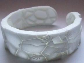 Lizard in White Natural Versatile Plastic