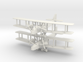 Handley Page H.P.36 Hinaidi and H.P.35 Clive 1/285 in White Natural Versatile Plastic