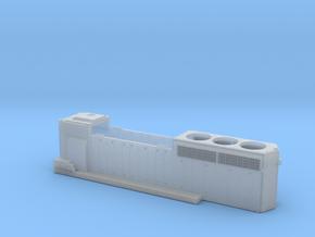 CN9400-9530 GP40-2L Hood Rebuilt 1/87.1 in Smoothest Fine Detail Plastic