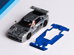1/32 Fly Venturi 600 LM Chassis for slot.it pod in White Natural Versatile Plastic