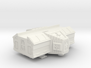 Space 1999 Laboratory Pod for Dinky Eagle in White Natural Versatile Plastic