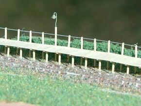 2mm/ft SR Trestle Platform Set in Smooth Fine Detail Plastic