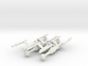Invader Advanced Frigate 4 Sprue in White Natural Versatile Plastic