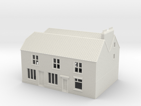 RHS-2 N Scale Rye High Street building 1:148 in White Natural Versatile Plastic
