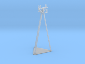 European Electric Poles in Smooth Fine Detail Plastic