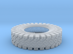 Snow Tire V2 in Smooth Fine Detail Plastic