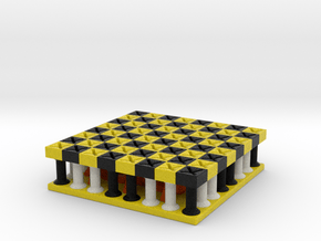 Galaxy Chess Board in Full Color Sandstone