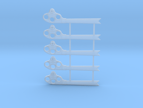 O Scale GRS Style A Fishtail Semaphore in Smooth Fine Detail Plastic