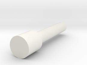 Rampage Encoder Shaft in White Natural Versatile Plastic