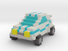 Voxel Car Type 2 in Full Color Sandstone