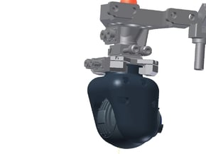 FLIIR Camera Dissembled 3 in White Processed Versatile Plastic