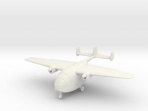 1/200 Miles M57 Aerovan in White Natural Versatile Plastic