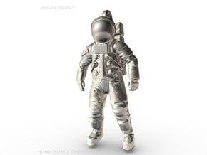 Apollo Astronaut / 50 mm in Natural Silver