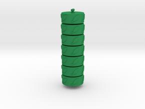 Argent Bases - Nature (7 pcs) in Green Processed Versatile Plastic