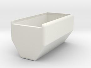 SX350J 2x18650 simple mod - shell in White Natural Versatile Plastic