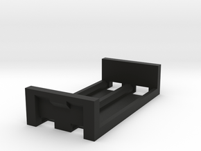 SX350J 2x18650 simple mod - SLED in Black Natural Versatile Plastic
