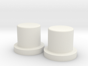 SX350J 2x18650 simple mod - Pushers in White Natural Versatile Plastic
