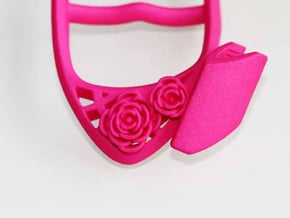 Writing Assist Tool ( for the right hand ) in Pink Processed Versatile Plastic