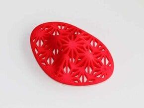 """Asanoha"", Self-Massage Tool in Red Processed Versatile Plastic"