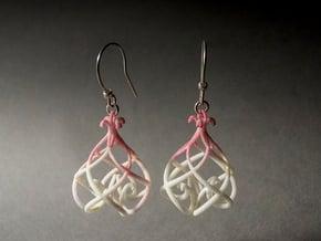 Heart Lantern Pendant in White Natural Versatile Plastic