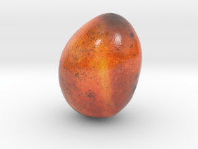 The Mango-mini in Glossy Full Color Sandstone