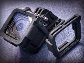 Camera Lens Protection for Hero 4, Hero 5, Session in Black Natural Versatile Plastic