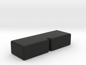 Fake Button for V6 Box and V6 Box MHS Compatible in Black Natural Versatile Plastic