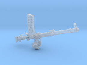 Becker 20mm Cannon 1917 (1:32) on a stand in Smoothest Fine Detail Plastic