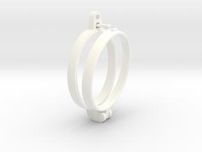 CarryON!slim in White Processed Versatile Plastic