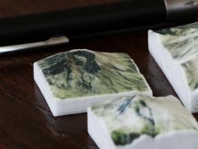 Mt. St. Helens, Wash., USA, 1:250000 Explorer in Glossy Full Color Sandstone