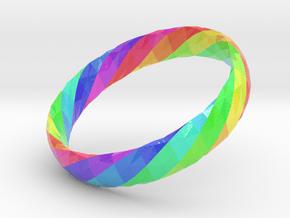 Twistium - Bracelet P=170mm h15 Color in Glossy Full Color Sandstone