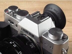 Eyecup Adapter for Fuji X-T10 / X-T20 / X-T30 V3 in Black Natural Versatile Plastic