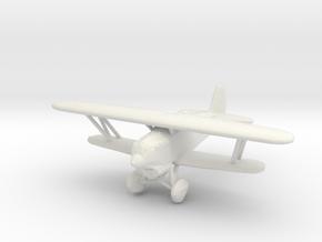 Kawasaki Ki-10 Type 95 'Perry' in White Natural Versatile Plastic: 1:200